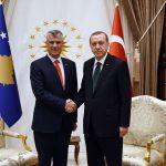 Erdogan Thaci vizita