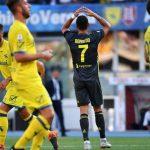 Cristiano Ronaldo ne Chievo-Juventus
