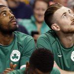 Kyrie Irving e Gordon Hayward, Boston Celtics NBA