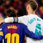 Lionel Messi dhe sergio Ramos
