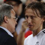 Luka Modric dhe florentino perez