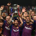 Messi dhe barcelona superkupe