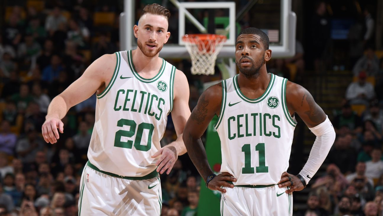 NBA, Kyrie Irving, Gordon Hayward, Boston Celtics