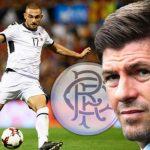 Rangers Eros Grezda Steven Gerrard
