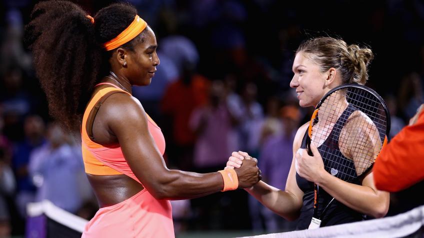 Serena Williams dhe Simona Halep