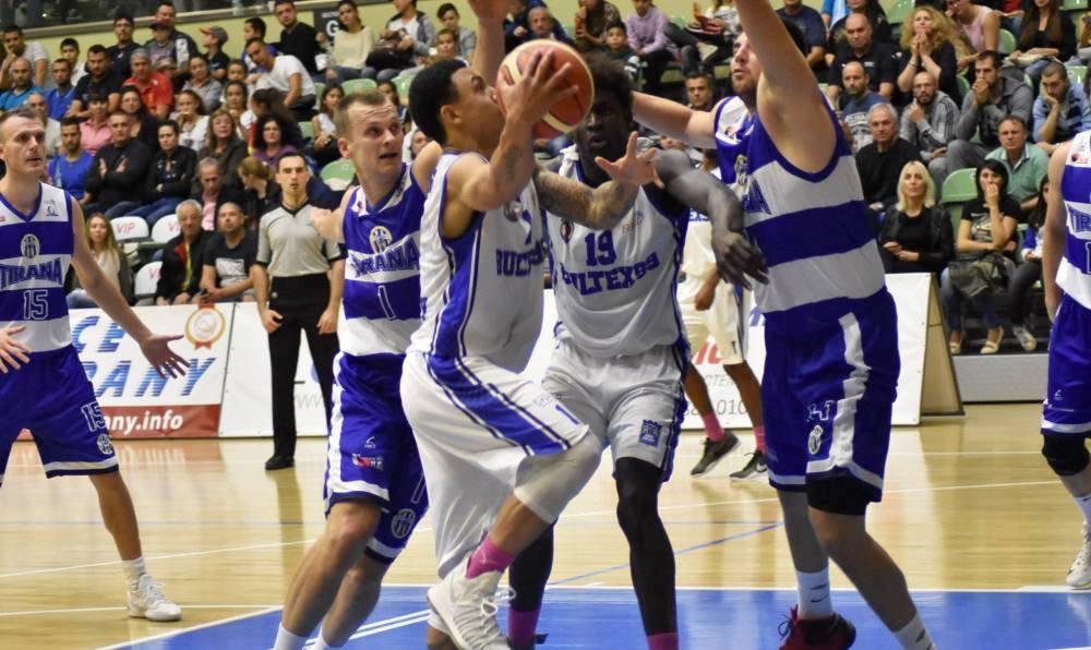 Tirana dhe Teuta ne basketboll