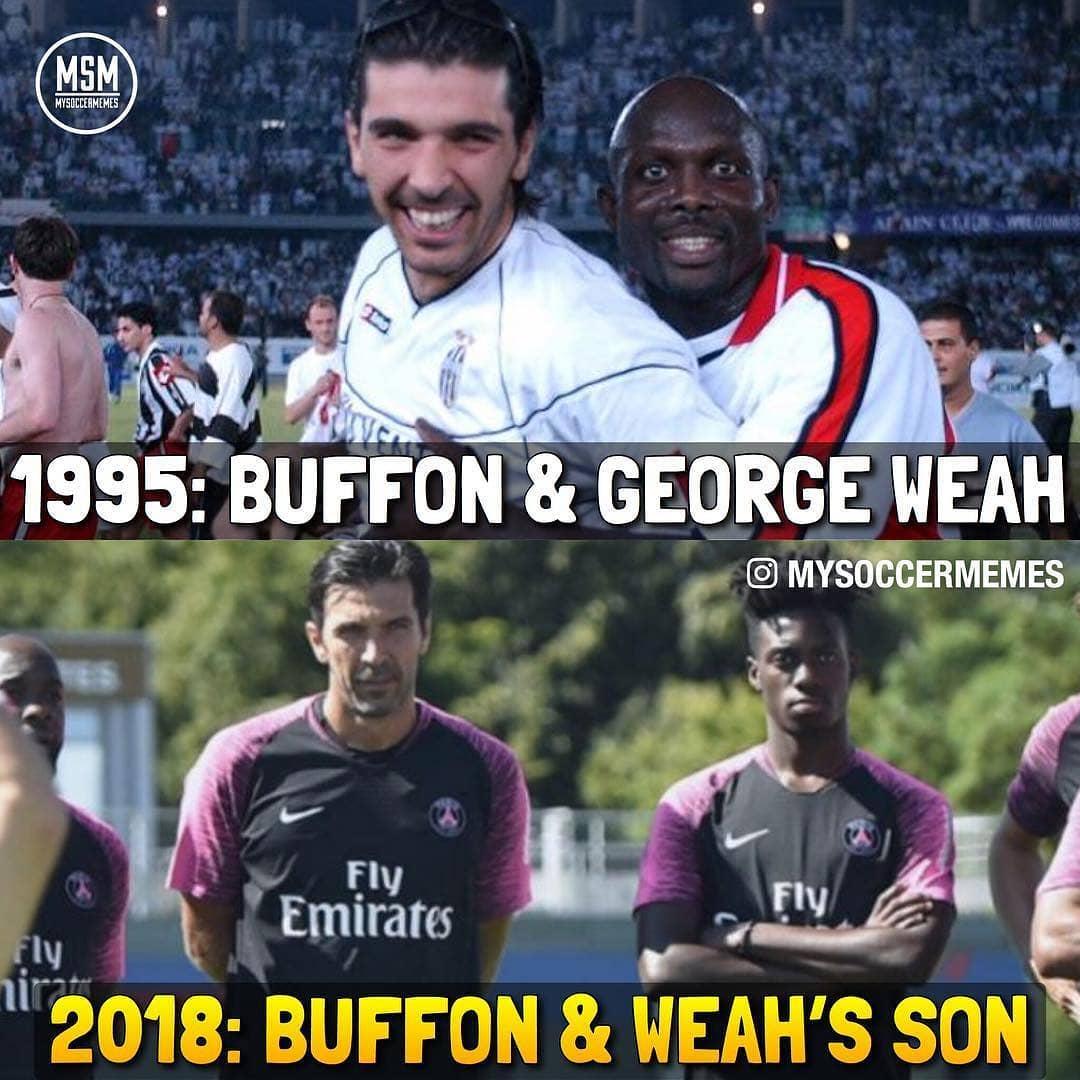 buffon dhe weah