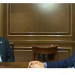 interviste bujar nishani dhe mentor nazarko
