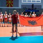 kombetarja shqiptare e femrave volejboll