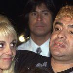 maradona dhe gruaja e tij