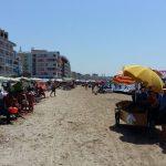 tregtaret ambulante ne plazh