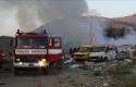 Zjarri 'përpin' lagjen e komunitetit rom