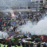 protestuesin ne hong kong