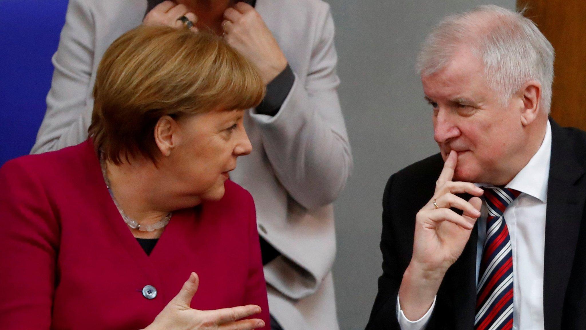 Merkel-Seehofer
