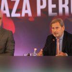Negociatat/ Hahn 'nxit' Shqipërinë: Jeni në rrugën e duhur, vetting-u detyrë