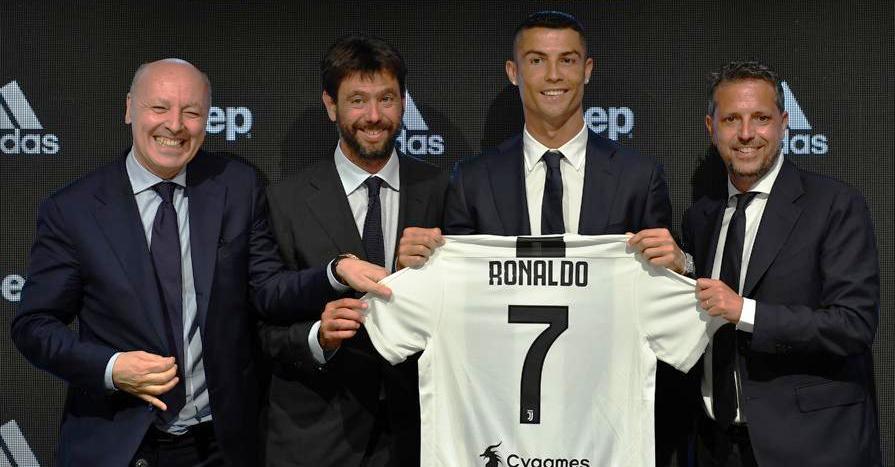 ronaldo dhe agnelli