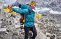 Shqiptarja që po pushton majat e Himalajave