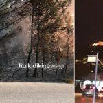 Greqi/ Zjarret masive përfshijnë pyjet e Halkidikisë