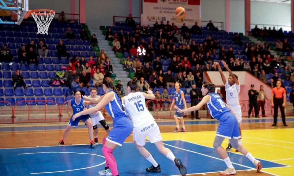tirana basket femra