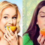 2 vajza me portokalle
