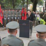 Ministrja Xhaçka: Forcat e Armatosura garancia e sigurisë