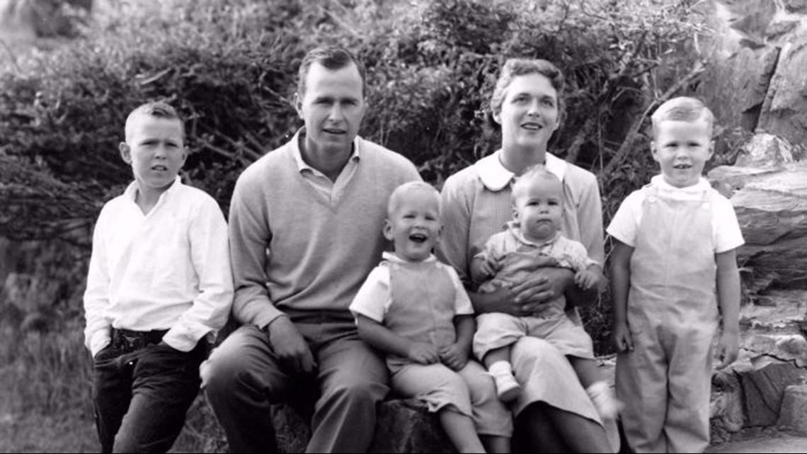 Xhorxh Bush dhe familja e tij