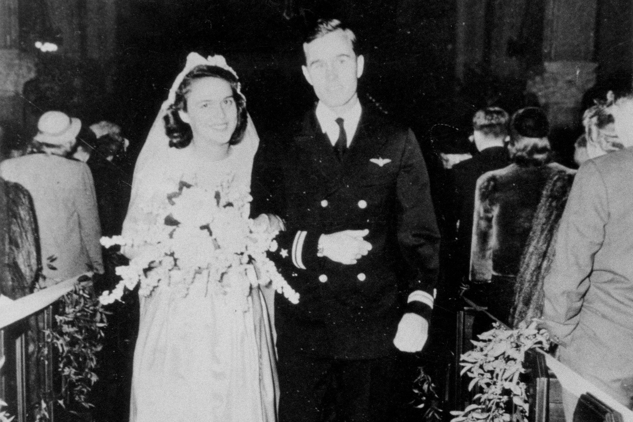 Xhorxh Bush dhe gruaja e tij