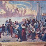 5 ARRITJA E ZOJËS NË GENAZZANO pikturë murale Genazzano