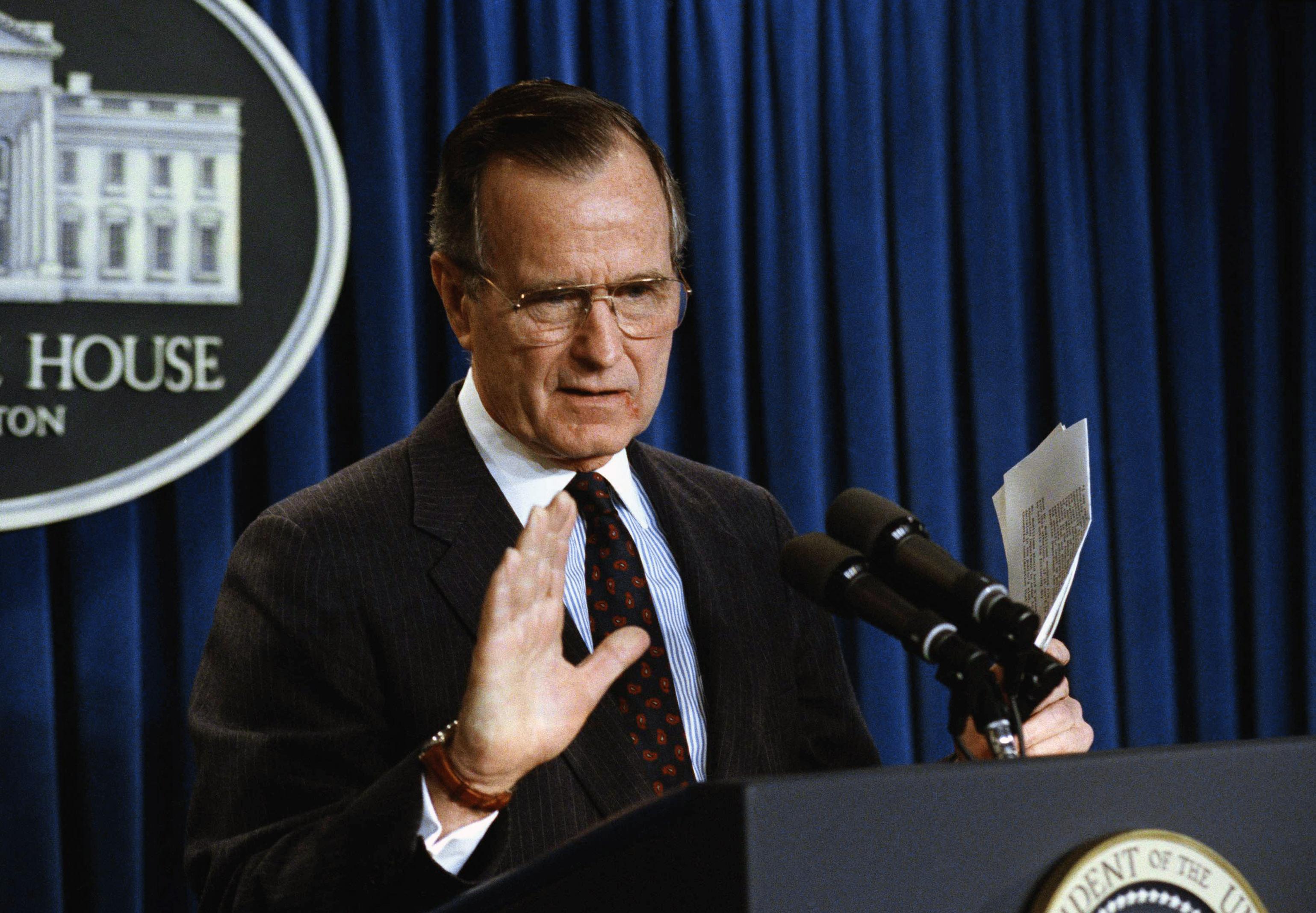 Xhorxh H. W Bush