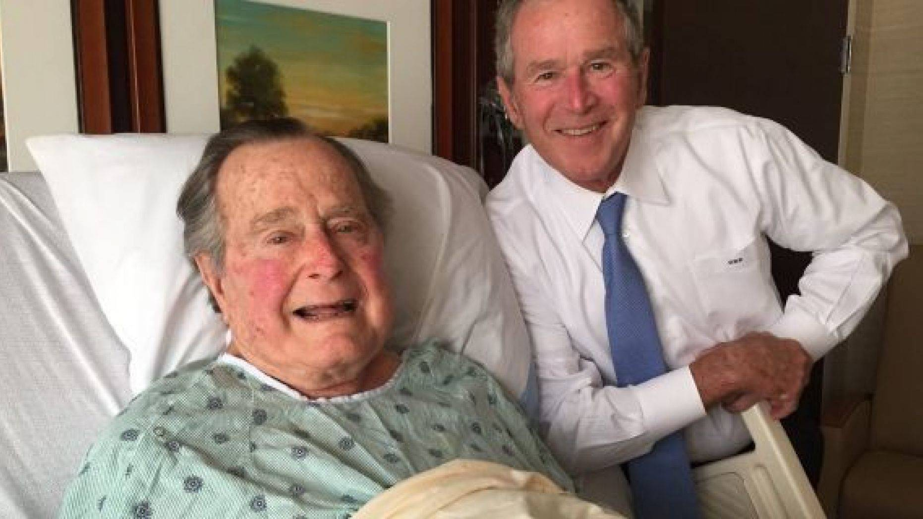Xhorxh H.W Bush në muajt e fundit të jetës