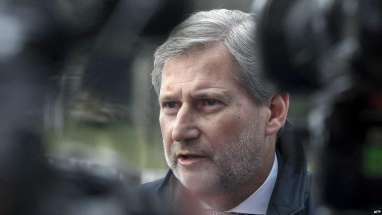 Çfarë do të bisedoj Hahn me liderët kosovar? konica.al