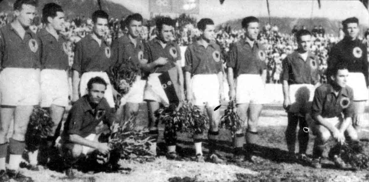 kombetarja shqiptare 1946 kunder bullgarise