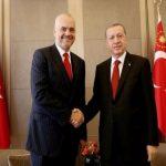 Rama takim në Stamboll me presidentin Erdogan