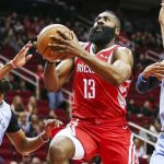James Harden Houston Rockets Memphis Grizzlies