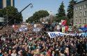 Protesta/ Mijëra qytetarë i drejtohen Tiranës, numri sipas qarqeve