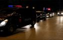 Gramsh/ Digjet makina e punonjësit të policisë
