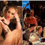 Jennifer Lawrence dhe Adele, lojëra me pije