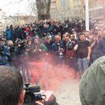 Protesta para Kuvendit/ Arrestohen 8 persona