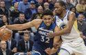 Warriors humbin në shtesë, fitojnë Lakers
