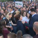 Protesta e opozitës, shënohet incidenti i parë në Shkodër