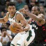 NBA/ Bucks triumfon bindshëm ndaj Raptors