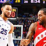 NBA/ Toronto Raptors befason Philadelphia-n