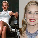 Sharon Stone pozon e zhveshur për revistën Vogue