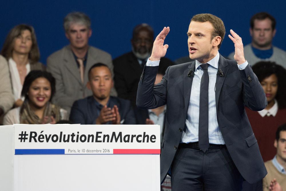 Macron Emmanuel France election CREDITFrederic Legrand COMEO Shutterstock