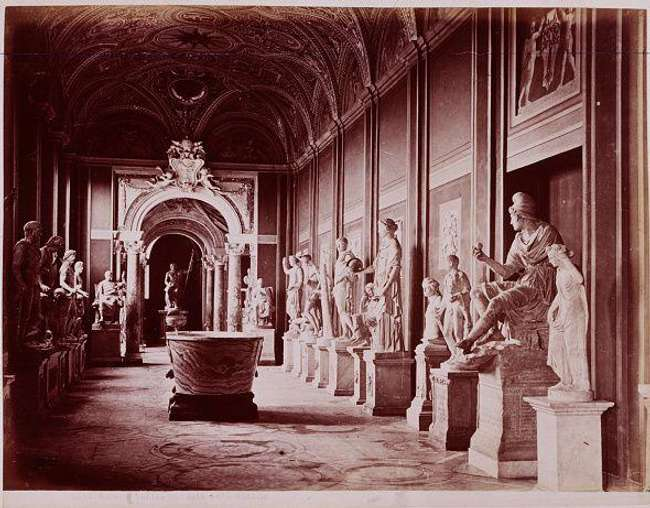 a look inside the vatican s hall of statues 1880 photo u1