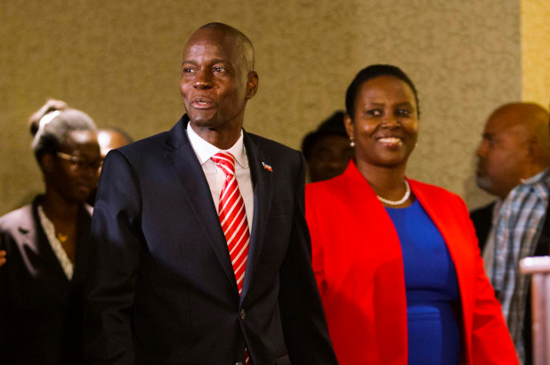 first couple haiti